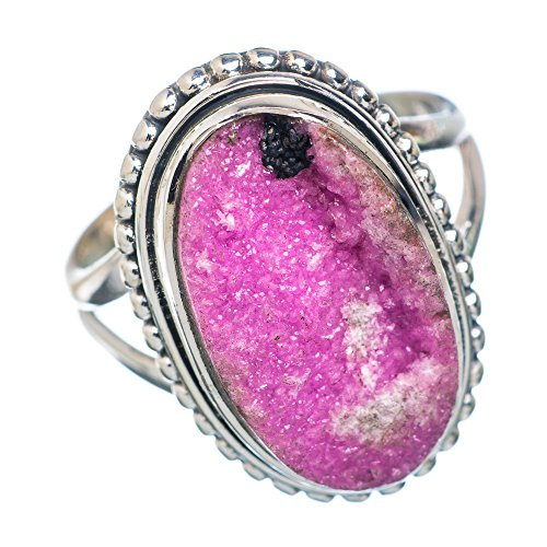 Cobalto Calcite 925 Sterling Silver Ring Size 7 - Handmade Jewelry RING877460