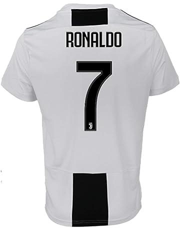 buy popular 6e2f8 9c642 SALLARM Juventus   7 T-Shirt Maillot de Football Cristiano Ronaldo 7 CR7  Homme Maillot