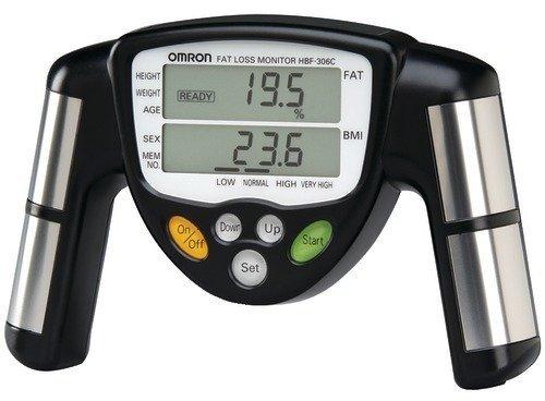 Omron - Body Fat Monitor - 306c Fat Omron Hbf
