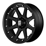 xd wheels 18 - XD Series by KMC Wheels XD798 Addict Matte Black Wheel (18x9