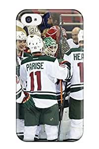 CATHERINE DOYLE's Shop minnesota wild hockey nhl (100) NHL Sports & Colleges fashionable iPhone 4/4s cases 5906021K980566984