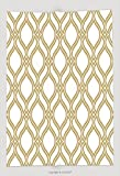 Custom Throw Blanket Abstract Pattern In Arabian Style Seamless Vector Background Gold And White Texture Graphic 458974003 and Comfortable