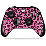 MightySkins Skin for Xbox One X Controller – Pink Leopard Protective, Durable, and Unique Vinyl Decal wrap cover | Easy To Apply, Remove, and Change Styles | Made in the USA Review