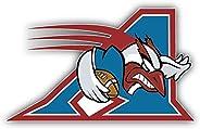 Montreal Alouettes Logo Football Sport Vinyl Sticker 5 X 3 inches
