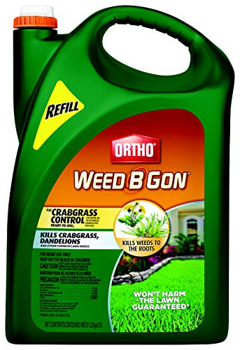 Ortho Weed B Gon Plus Crabgrass Control Ready-to-Use2 Refill (Wand), 1.33 Gallon (Ortho Weed B Gon Max For Southern Lawns)