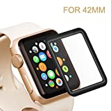 Bestfy iWatch Screen Protector, Full Coverage Tempered...
