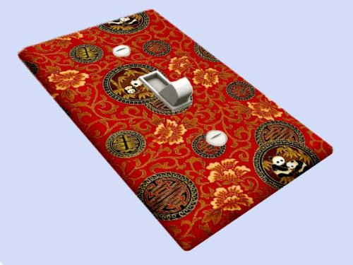 - Shanghai Pandas Switchplate - Switch Plate Cover