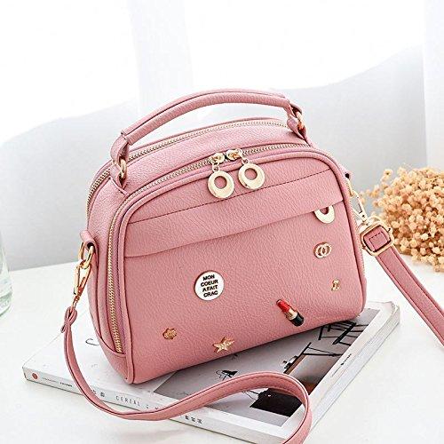 À Le KLXEB Mini Sac Paquet Diagonale Femme Main À Été Pink Petit Bandoulière Unique Sac Forfait rrqdxwUv