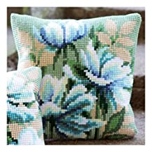 Cross Stitch Cushion: Japanese Anemones I by Vervaco