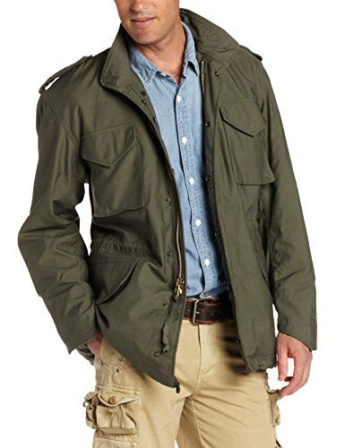 Alpha Industries Men's M-65 Field Coat,Olive Green,X-Large