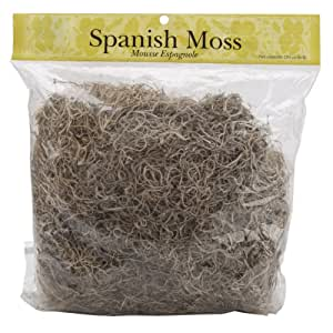 Panacea Spanish Moss, 8-Ounce, Natural