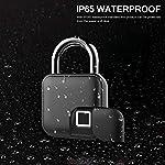 ONEVER-Lucchetto-a-impronta-digitale-ONEVER-Security-Keyless-Lock-IP65-Lucchetto-antifurto-impermeabile-per-porta-della-casa-zaino-valigia-bici