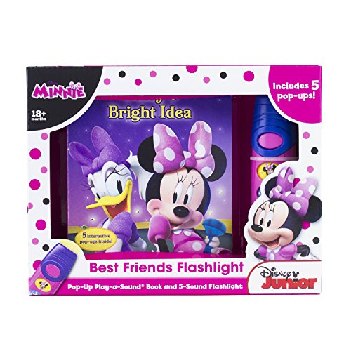 Disney Minnie Mouse - Best Friends Pop-Up Sound Board Book and Flashlight - PI Kids