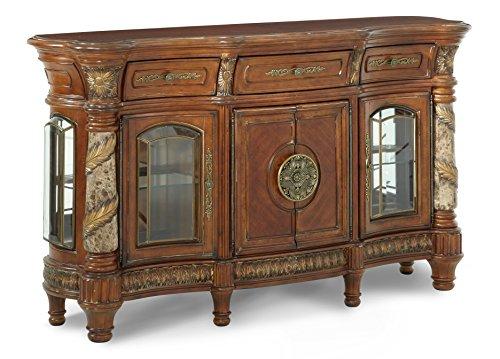 - Michael Amini Villa Valencia Sideboard Cabinet, Classic Chestnut
