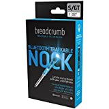 BREADCRUMB Bluetooth Trackable Technology Hunting Arrow Nock, S/GT .244/.246, Single