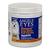 Best Dog Eye Stain Removers - ANGELS' Eyes 120 Count Natural Chicken Formula Soft Review