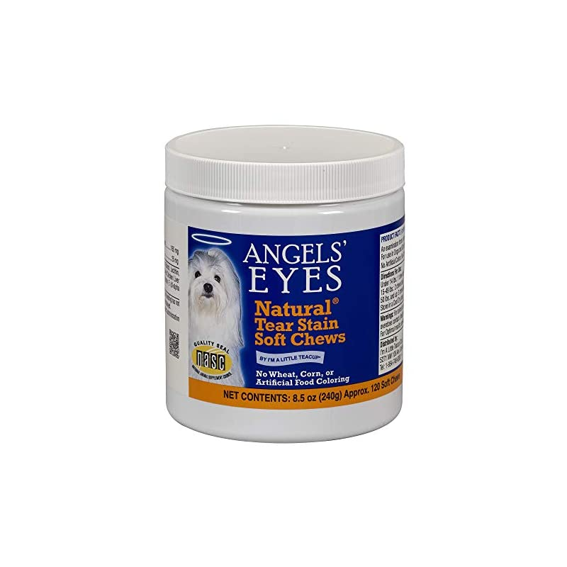 dog supplies online angel's eyes 120 count natural chicken formula soft chews for dogs