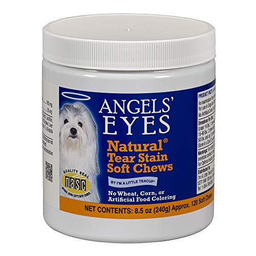 Angel's Eyes 120 Count Natural Chicken Formula Soft Chews for Dogs]()