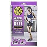 Golds Gym Waist Trimmer Belt - Adjustable Size fits up to 50 inch Waist Trims.