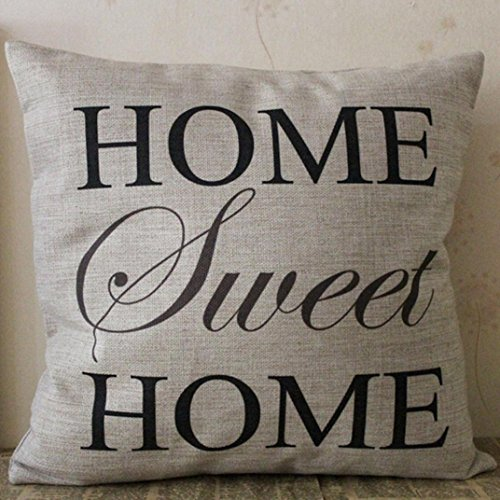 pillow throw print with letters love amazon quote anickal cotton pillows linen slp case com x laugh live cover word