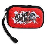 Venom Carnage Purse & Key Wristlet Bag