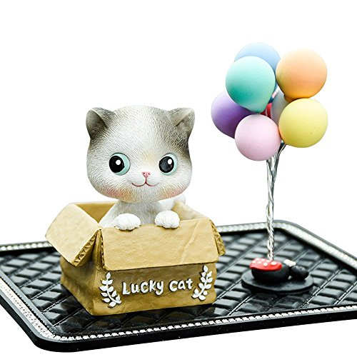 Kerr's Choice Hand-Painted Sculpted Resin Cat Figurine ❤Great Cat Gift for Cat ()