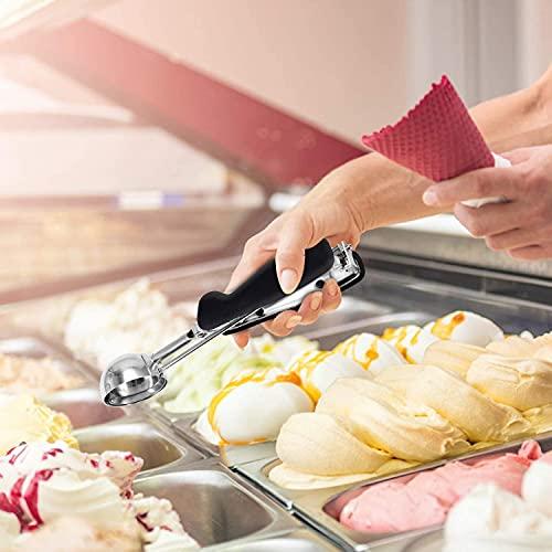 Ice Cream Scoop, Cookie Scoop Set Cookie Scooper for Baking Melon Scoop