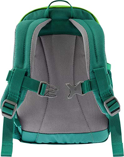 Deuter Pico Toddler's School and Hiking Backpack, Alpine Green/Kiwi