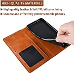 Excelsior Premium Leather Wallet flip case Cover with | Card and Cash Slot | 360 Full Body Protection | Inner TPU case…