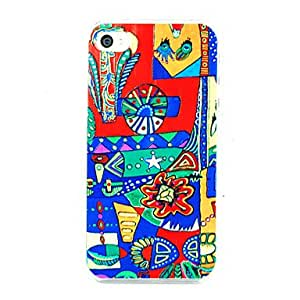 Abstract Painting Back Case for iPhone 5/5S