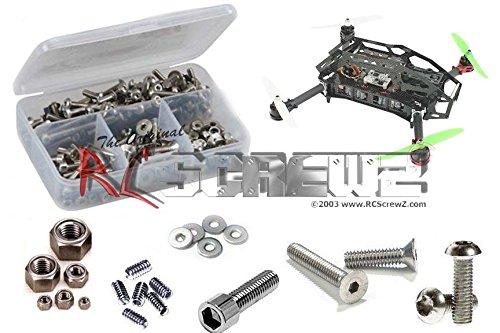 RCScrewZ Aerial Freaks Mojo 280 FPV/Multicoptor Stainless Steel Screw Kit (Kit Steel Stainless Freak)