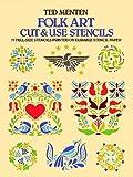 Folk Art Cut & Use Stencils