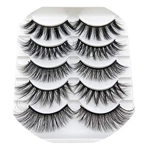 NEW 13 Styles 1/3/5/6 pair Mink Hair False Eyelashes Natural/Thick Long Eye Lashes Wispy Makeup Beauty Extension Tools Wimpers,900