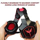 Raikken Stereo Gaming Headset PS4, Xbox One, PC