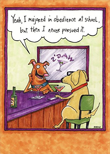 Dogs Talking At Bar