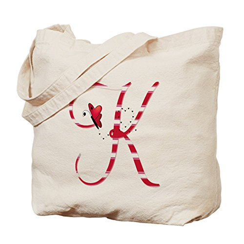 CafePress - Monogrammed( K) Tote Bag - N - Monogrammed Natural Shopping Results