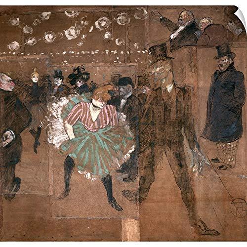 CANVAS ON DEMAND Dancing at The Moulin Rouge: La Goulue (1870 1927)