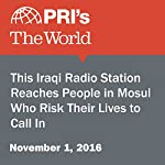 This Iraqi Radio Station Reaches People in Mosul Who Risk Their Lives to Call In | Rebecca Collard