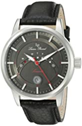 Lucien Piccard Watches Sorrento Leather Band Watch