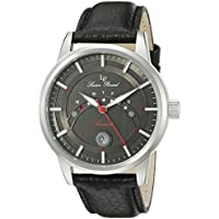 Lucien Piccard Men's LP-10154-01 Sorrento Analog Display Quartz Black Watch