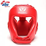 Professional AIBA Boxing Headgear By Wesing