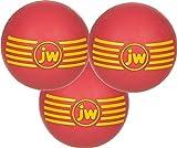JW PET ISqueak Squeaker Dog & Puppy Fetch Chew Toy MEDIUM BALL 3 PACK For Sale
