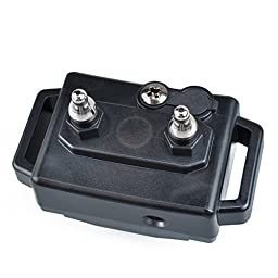 Aetertek AT-218 Submersible Remote 2 Dog Pet Shock Training Collar Trainer With Auto Anti Bark Feature