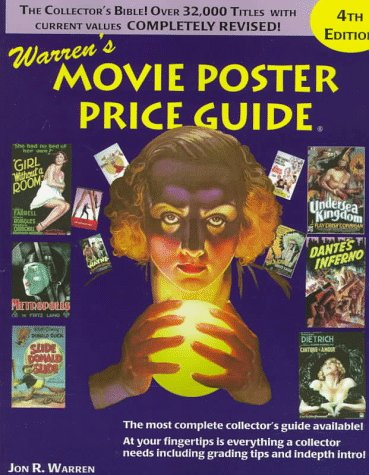 Warren's Movie Poster Price Guide, Fourth Edition