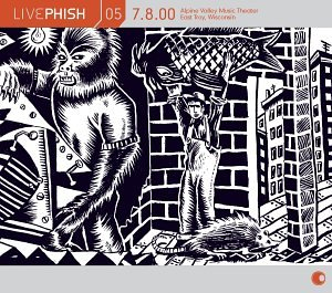 Live Phish Vol. 5: 7/8/00, Alpine Valley Music Theater, East Troy, Wisconsin by Elektra / Wea