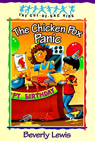 book cover of The Chicken Pox Panic