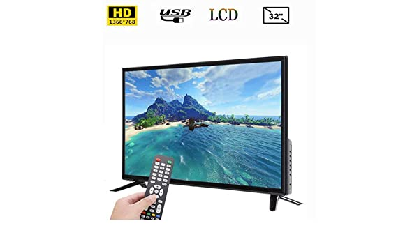 Smart TV de 32 Pulgadas, TV LCD BCL-32A / 3216D HD 1366 * 768 Admite Entrada de Antena RF USB HDMI 110-240V Fire TV Edition Black(Enchufe de la UE): Amazon.es: Electrónica