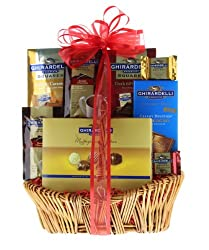 Grand Ghirardelli Chocolate Gift Basket from Wine.com