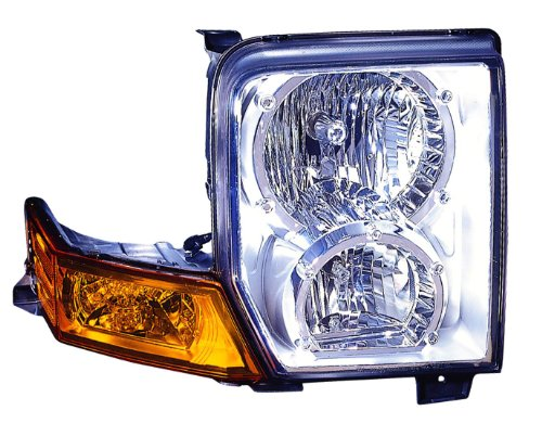 Depo 333-1178R-AS Jeep Commander Passenger Side Replacement Headlight Assembly