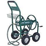 Anbeaut 300FT Garden Water Hose Reel Cart with Basket
